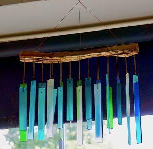 Handwork, Seaglass & Driftwood Chime