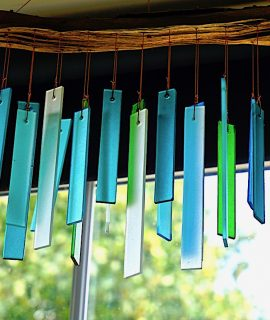 Handwork, Seaglass & Driftwood Chime