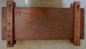 Antique Handmade Wooden Press