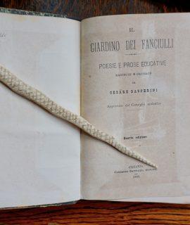 Cesare Gasperini, Il giardino dei fanciulli, Catania 1888