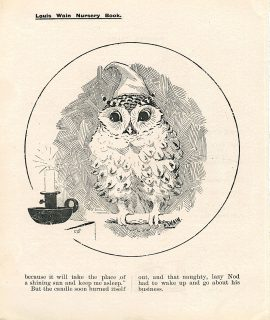 Lot of two print from Nursery Book, 1902