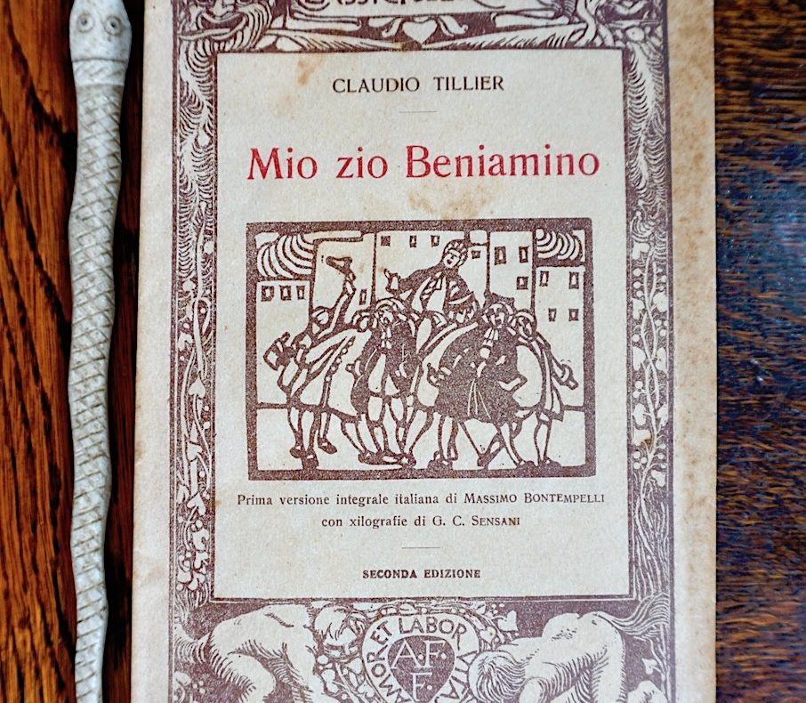 Claudio Tiller, Mio zio Beniamino, Formiggini, 1922