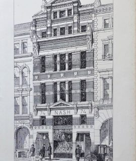 74 Cornhill, The Building News, 1874