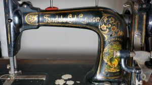 Antique Faudel of London sewing machine, 1890