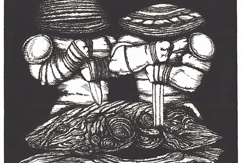 Le matrici tagliate, l'ostrica