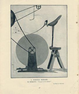 Vintage Rare Print, Mr. Mosquito, by Hawley Morgan, 1908