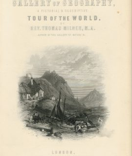 Frontispiece,The Gallery of Geography, 1876