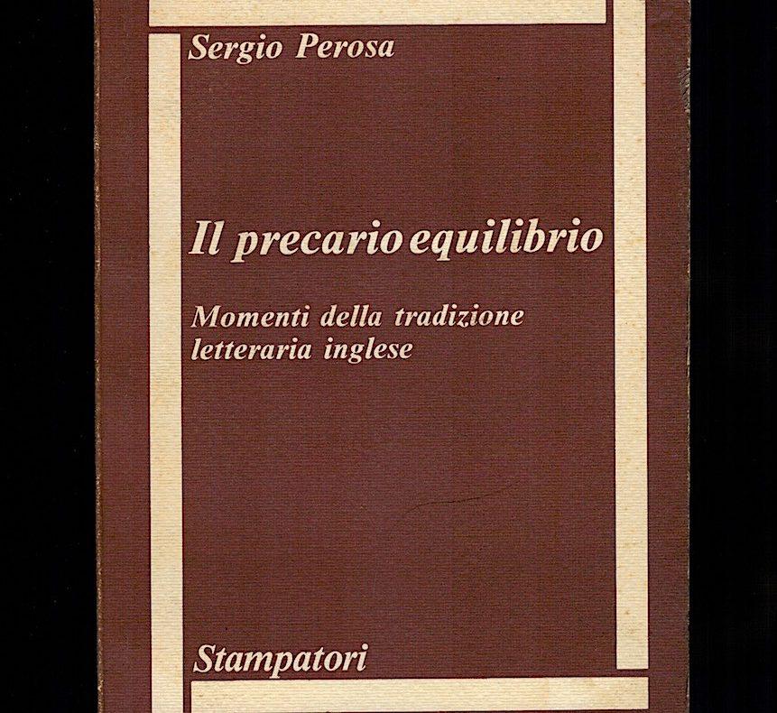 Perosa, Il precario equilibrio, Stampatori, 1980