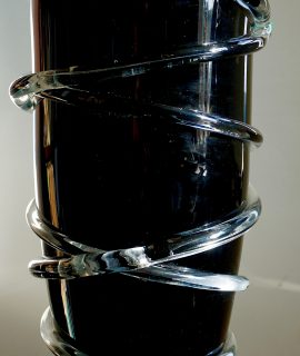 Vintage Large Murano Vase 1960s
