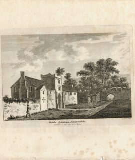 Antique Engraving Print, Combe Sydenham Somersetshire, 1783