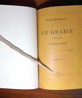 U. Foscolo, Le Grazie, Paravia, 1877
