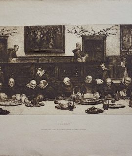 Fred Slocombe after W. Dendy Sadler, Etching, Friday, 1885