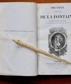 Oeuvres complètes de La Fontaine, Paris, Baudoin Frères, 1826