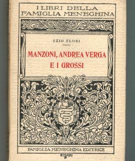 E. Flori, Manzoni, Andrea Verga e i Grossi, Famiglia Meneghina, 1936