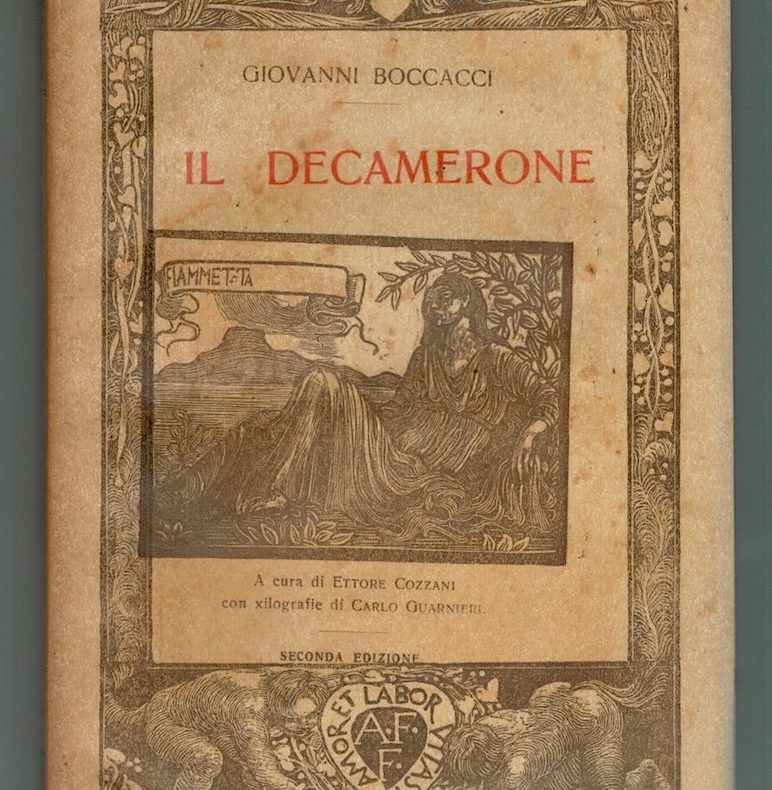 G. Boccacci, Il Decamerone, Giornata quinta, Formiggini. 1923