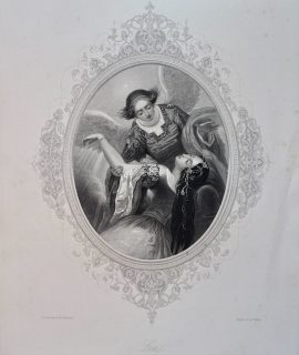 Antique Engraving Print, Lea, 1846