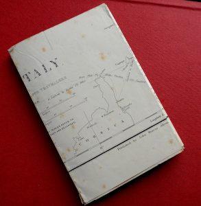 Rare Antique Map, North Italy, 1830