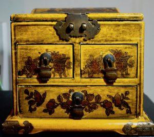 Rare Antique Chinese Jewellery Box, 1850-70