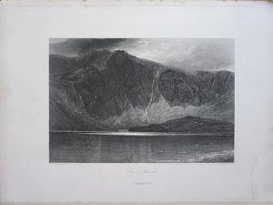 Antique Engraving Print by G.C. Lewis, 1840 ca.