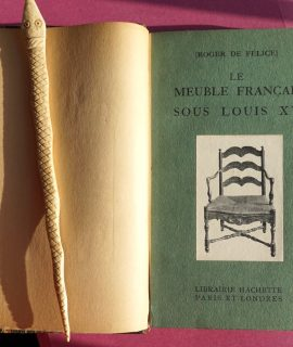 R. De Felice, Le meuble français sous Louis XV, Hachette, 1920