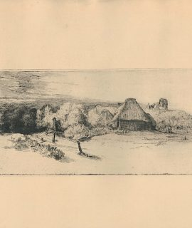 Vintage Print, Landscape, 1905 ca.