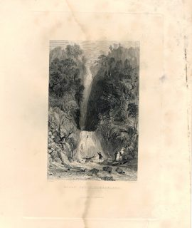 Antique Engraving Print, Scale Force, Cumberland, 1836