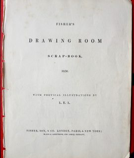 Fisher's Drawing Room Scrap-Book, Fisher, Son & Co. 1838