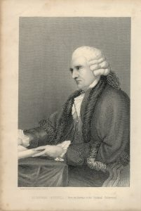 Antique Print, Alderman Boydell, 1875