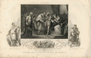 Edward, Duke of York Parting with his Mother, 1840