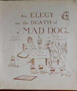 Elegy in the Death of a Mad Dog, by Master Bill Primrose, 1890