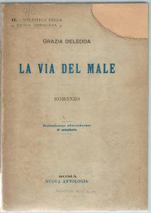G. Deledda, La via del male, Nuova Antologia, 1906