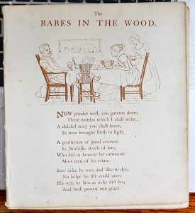 The Babes in the Wood, 1890