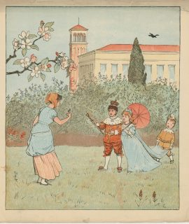 Vintage Print signed R.C. 1890