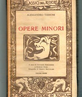 A. Tassoni, Opere Minori, Formiggini, 1926