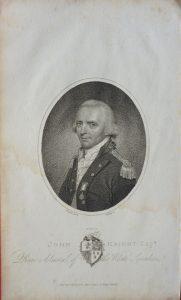 John Knight, Esqr., rear admiral of the White Squadron, 1804