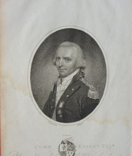 John Knight, Esqr., rear admiral of the White Squadron, 1804
