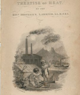 Antique Engraving Print, A Treatise on Heat, London, 1833