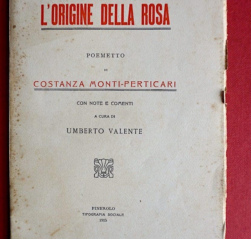 Costanza Monti Perticari, poesie