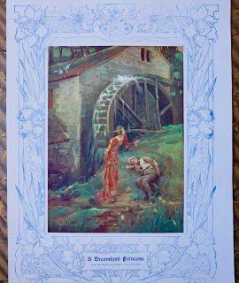 Rare Vintage Print, A Dreamland Princess by Elizabeth Stanhope Forbes, 1909
