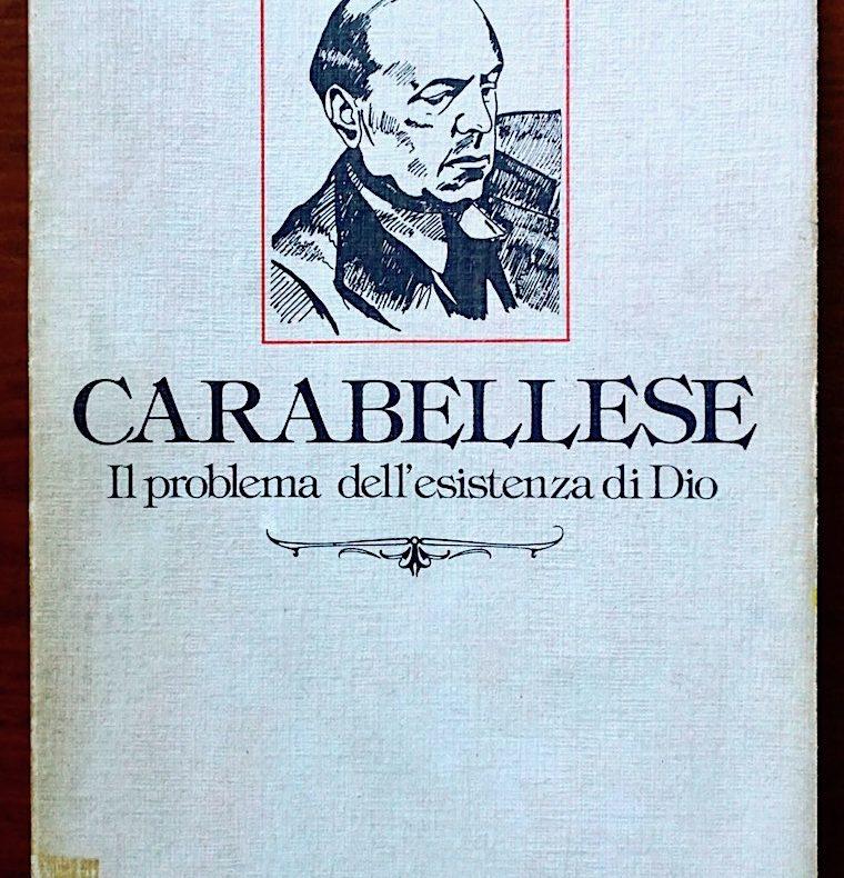 Carabellese, ontologismo, filosofia, dio