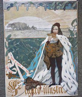 Antique Art Cover Print, Figaro Illustre, n. 94, 1898