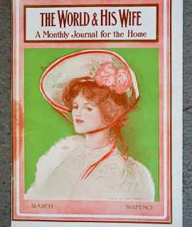 Vintage Art Cover Print, From The World & His Wife, 1910 ca.