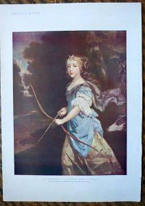 Jane Kelleway, or Princess Mary, as Diana by Peter Lely, 1890