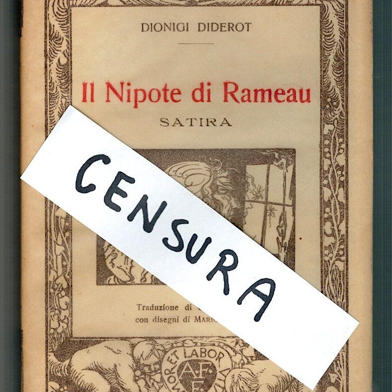 L'ignoranza censura Dionigi Diderot
