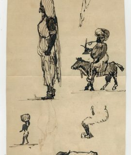 Original Vintage Sketch Drawings, 1902