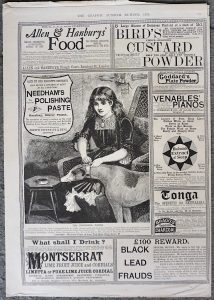 Antique Print from The Graphic Summer number 1886