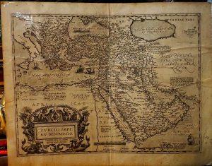 Antique Map, Africae, Turcici Imperii Descriptio, 1570