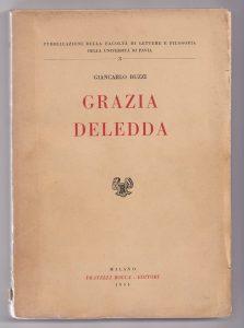 Giancarlo Buzzi, Grazia Deledda