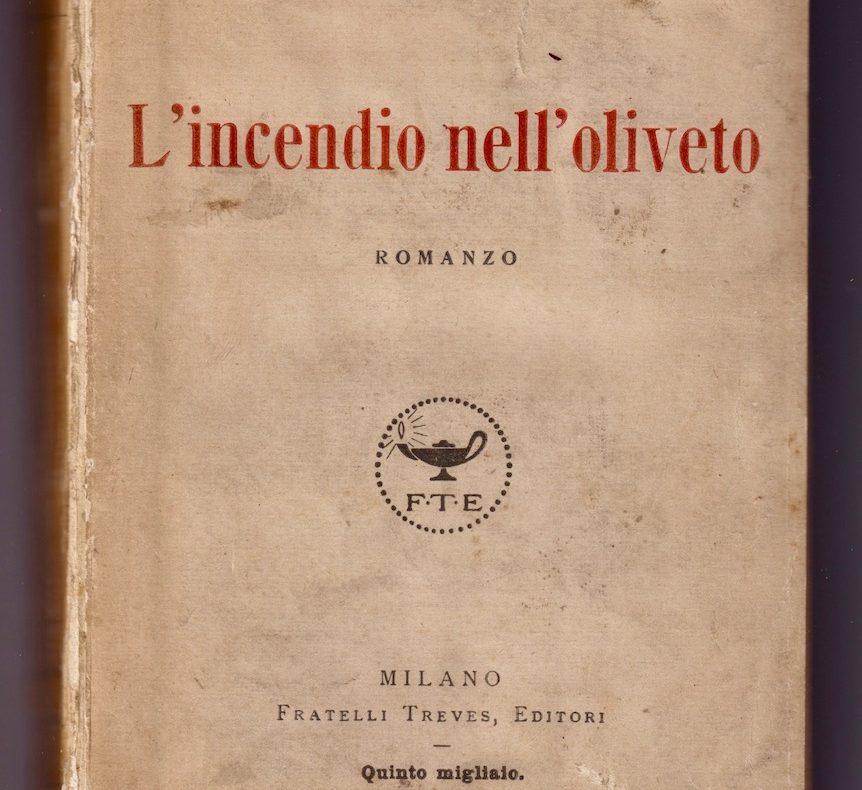 Grazia Deledda, L'incendio nell'oliveto