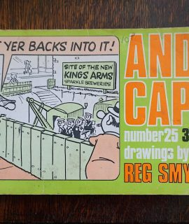Andy Capp, drawings by Reg Smythe, number 25, 1970
